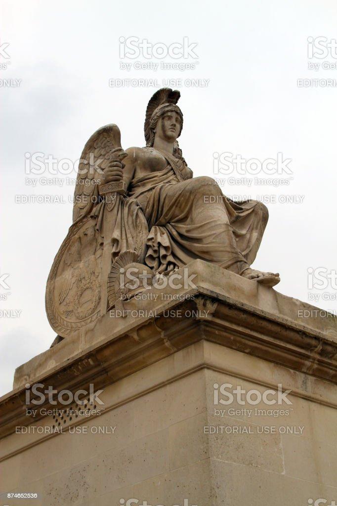 Stone Athena stock photo