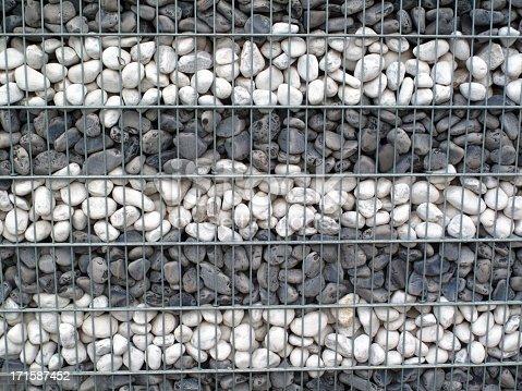 Stone basket - ideal for hillsides, slopes, noise barrier, windbreakwall ...