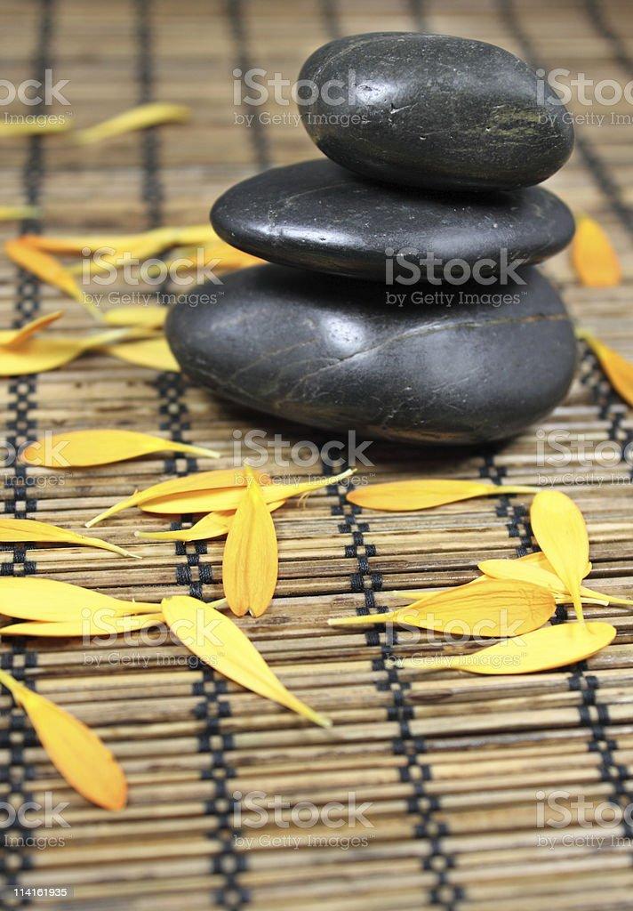 stone balance royalty-free stock photo