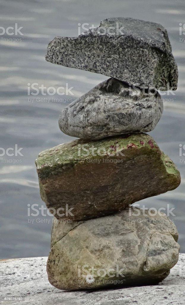 Stone balance foto de stock royalty-free