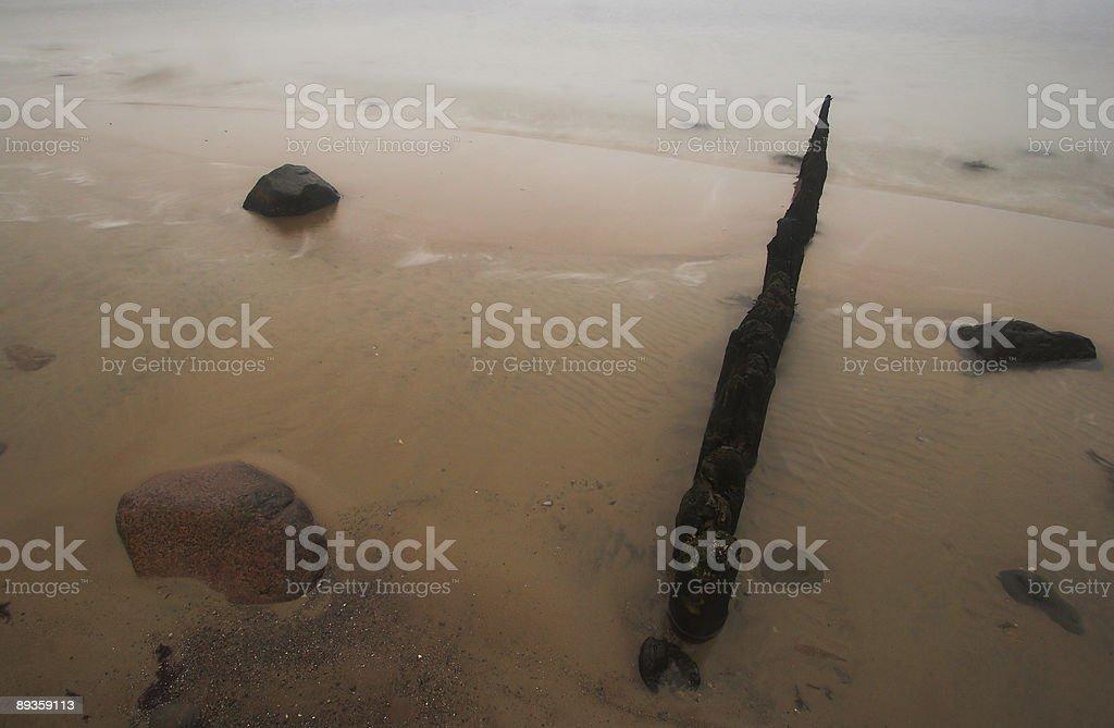 Pietra spiaggia foto stock royalty-free