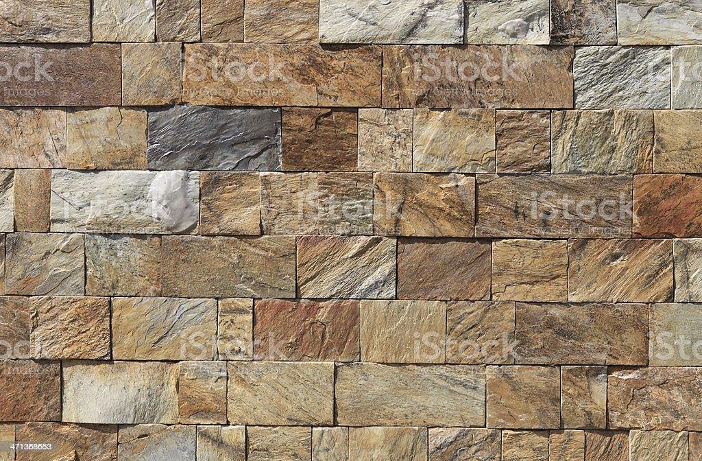Stone block wall background royalty-free stock photo