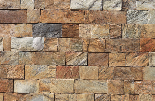 Stone block wall background. Canon 5D MkII.