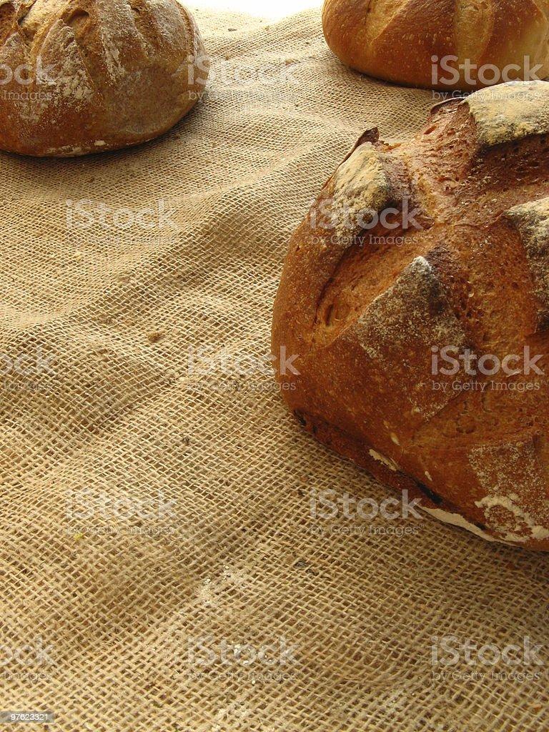 Stone bread royaltyfri bildbanksbilder
