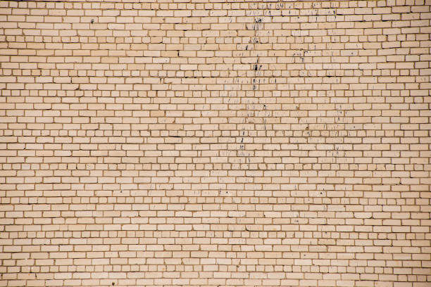 stone brick tectured pattern in nature stock photo