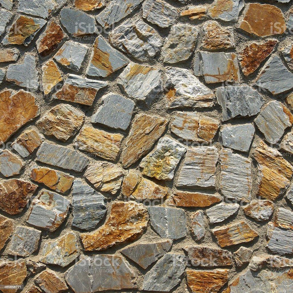 stone brick wall royalty-free stock photo
