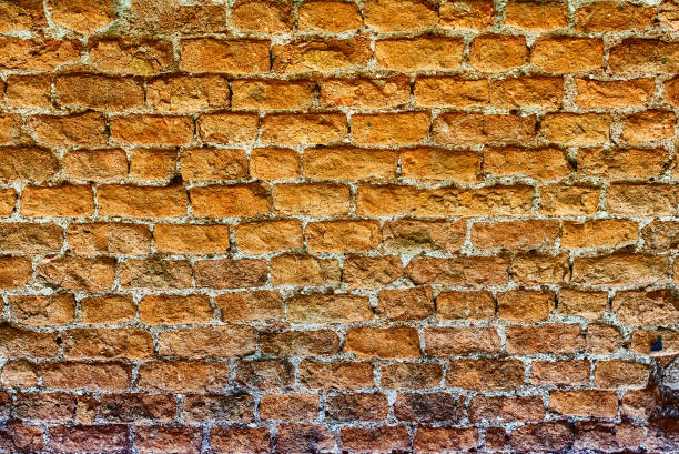 Stone Brick Wall Texture, may be used as background - foto stock