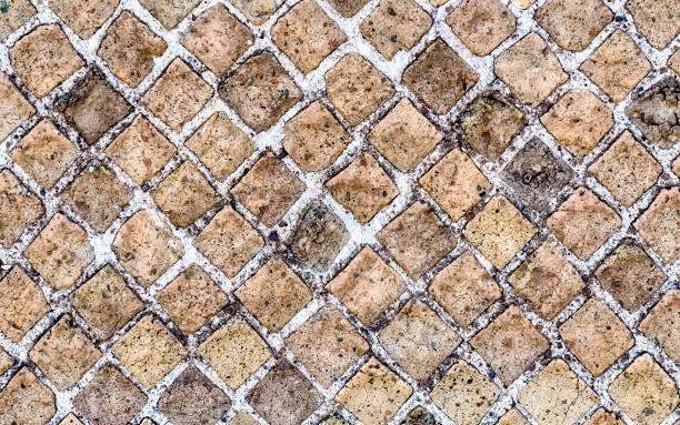 Stone Brick Wall Texture, may use as background - foto stock