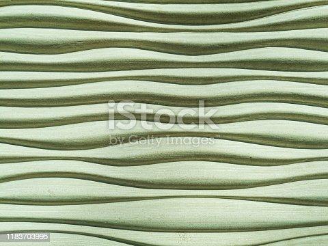 Stone brick wavy lines background