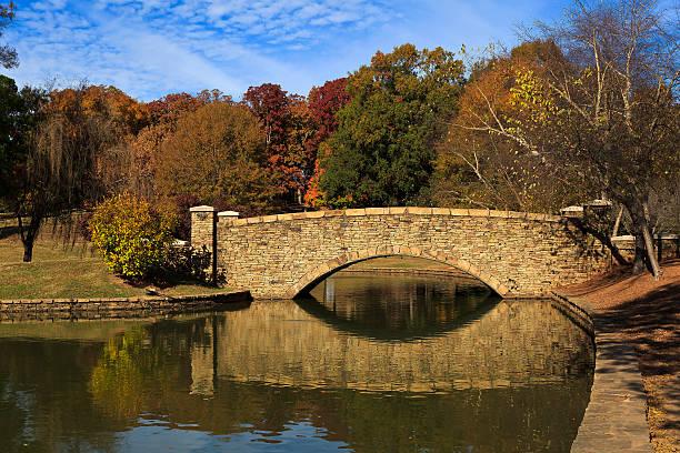 Stone Bridge at Freedom Park in Charlotte