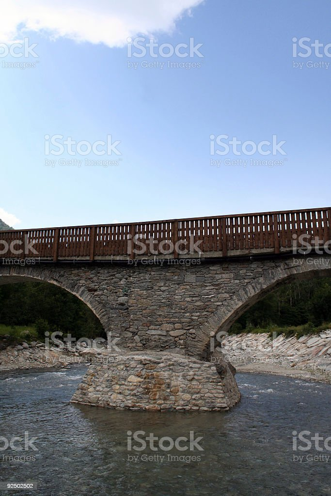 Stone bridge royalty-free stock photo