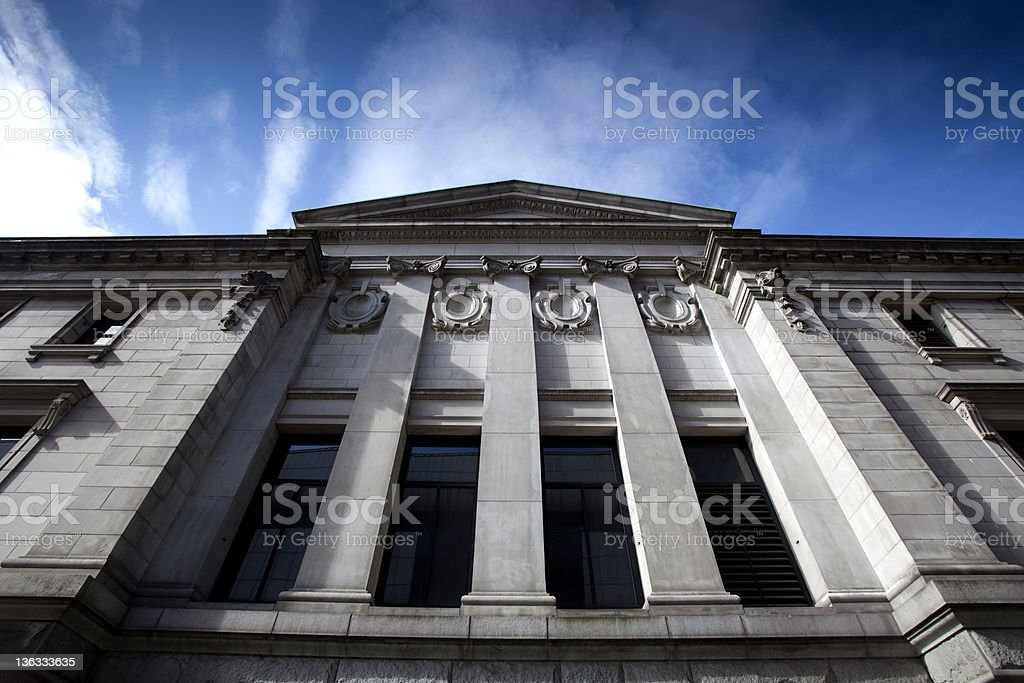 Stone Building royalty-free stock photo