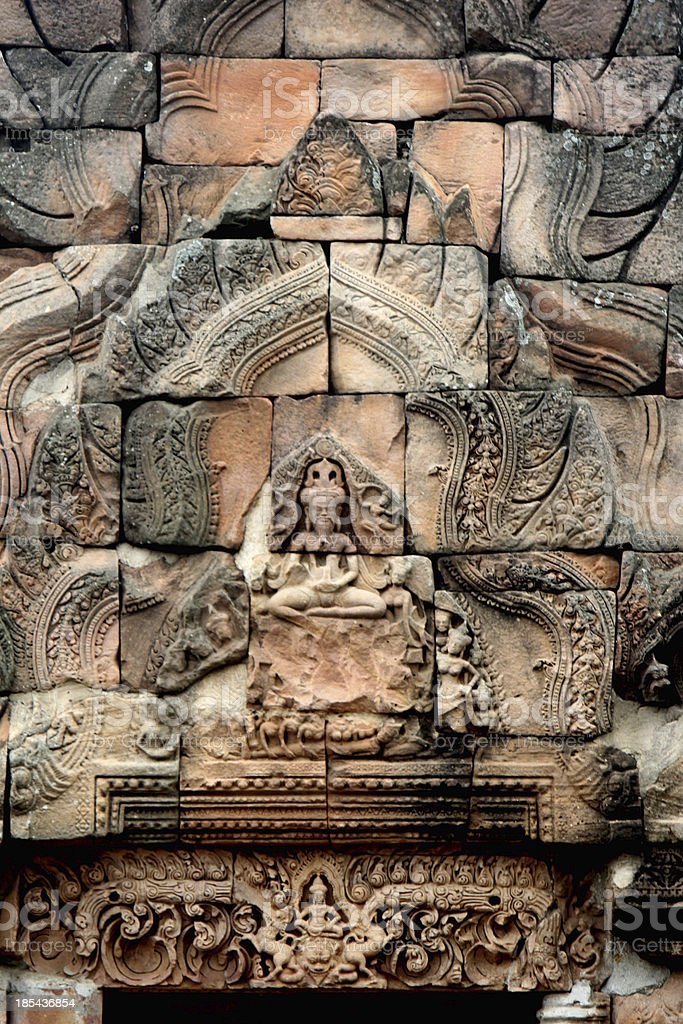 Stone carving. royalty-free stock photo