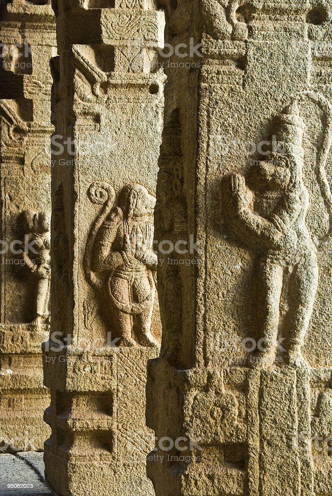 Stone carvings royalty-free stock photo