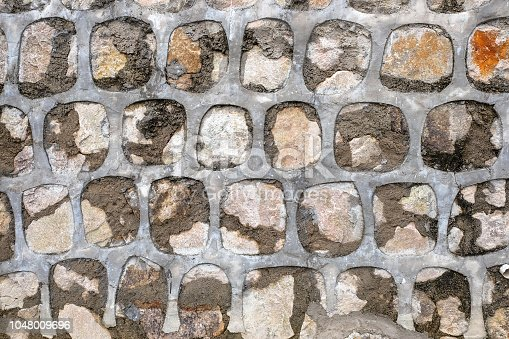 Stone cement wall texture
