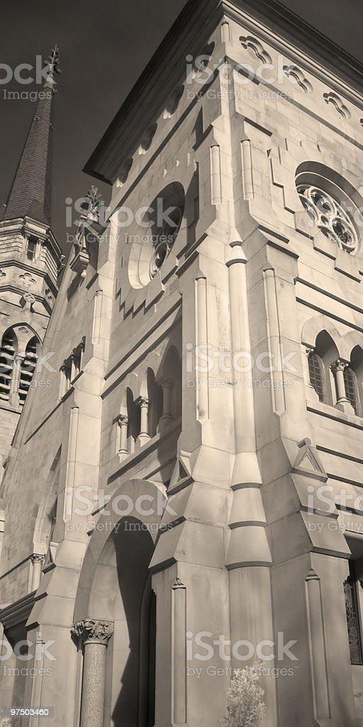 Stone Church royalty-free stock photo
