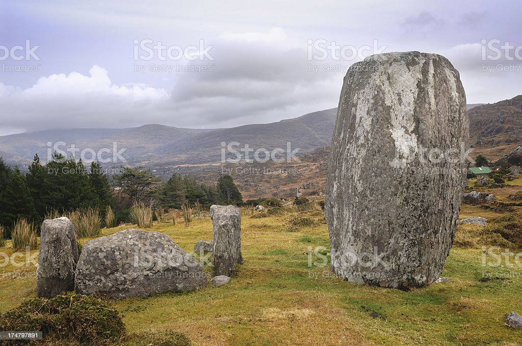 Stone Circle royalty-free stock photo