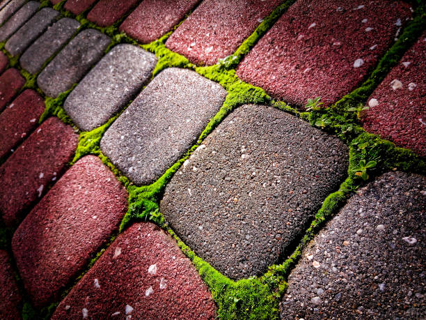 Stone Colorful Tiles stock photo