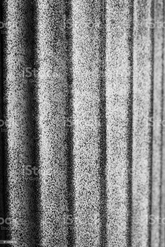 Stone Column of a garden pot royalty-free stock photo