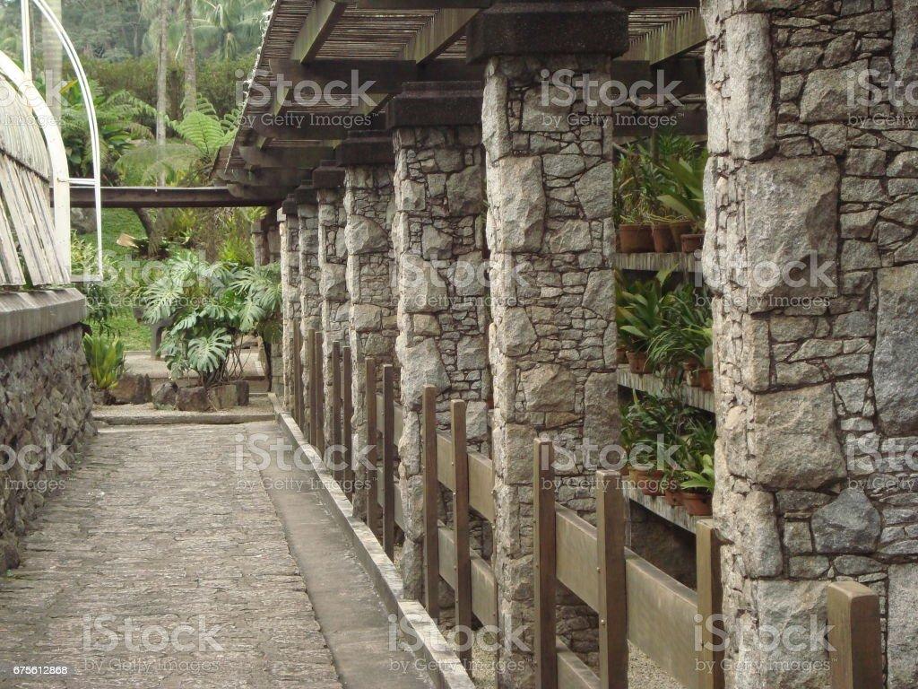 Colonnes de pierre photo libre de droits