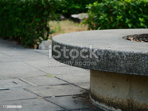 Formal Garden, Furniture, Rock - Object, Stone - Object, Thailand