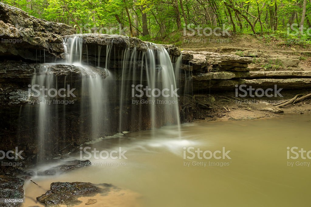 Stone Creek Falls stock photo