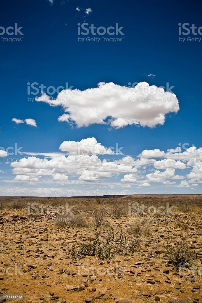Stone Desert South West Africa royalty-free stock photo
