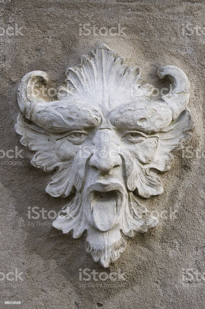 Stone Devil royalty-free stock photo
