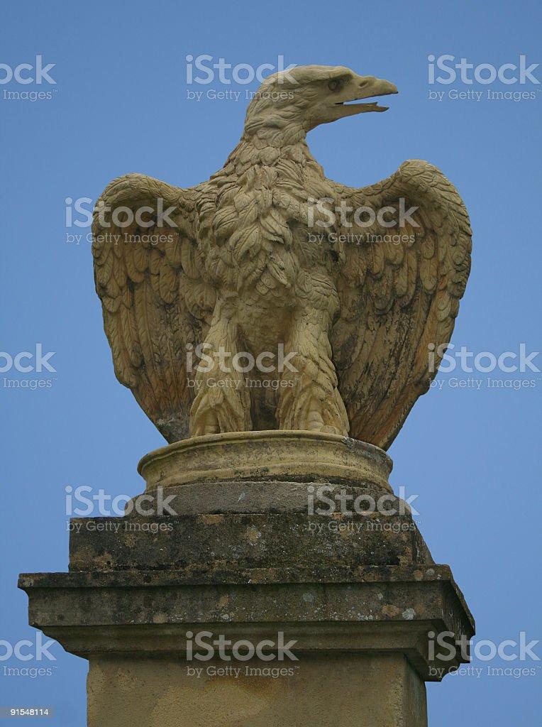 Stone Eagle royalty-free stock photo
