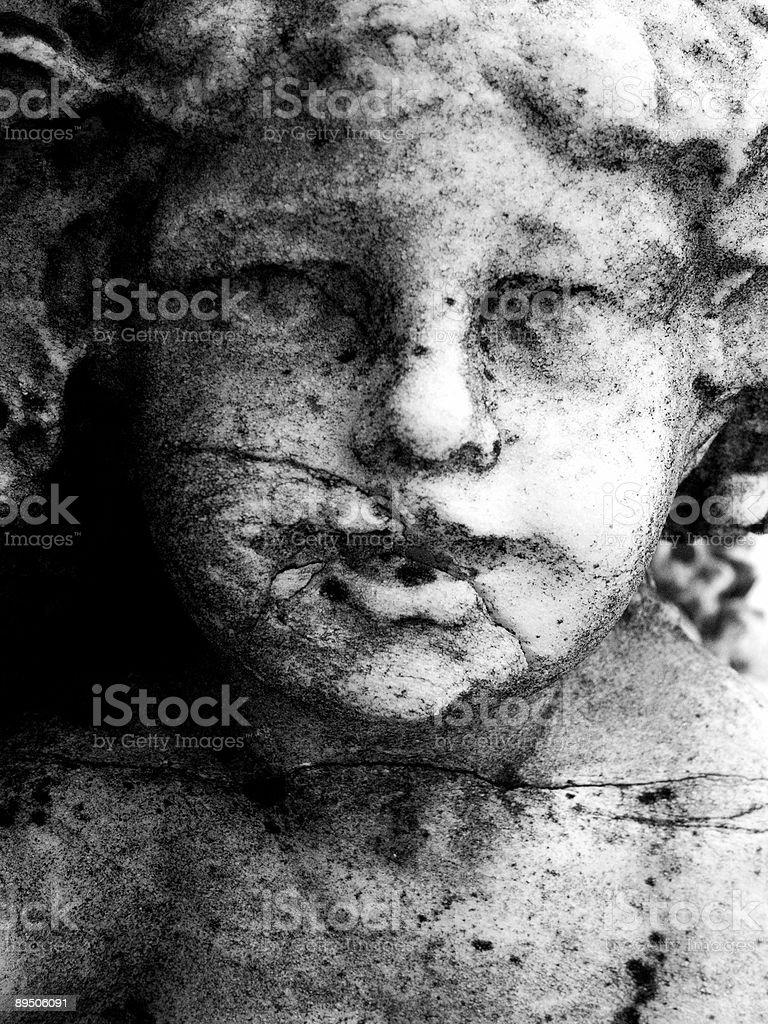 Stone Face royalty-free stock photo