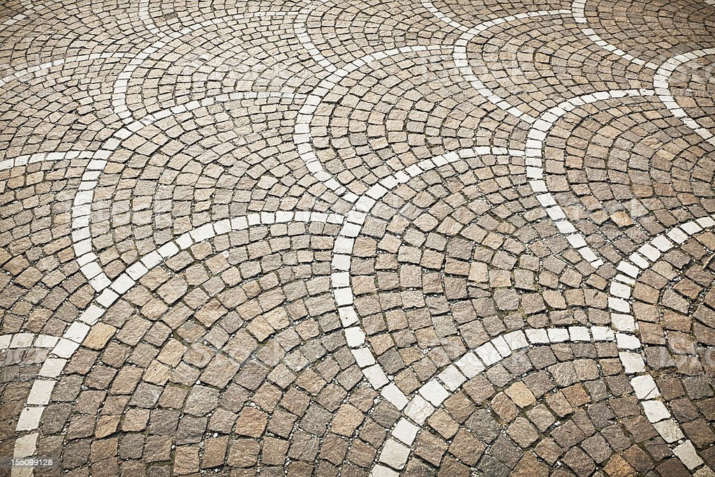 Stone Floor Pattern royalty-free stock photo