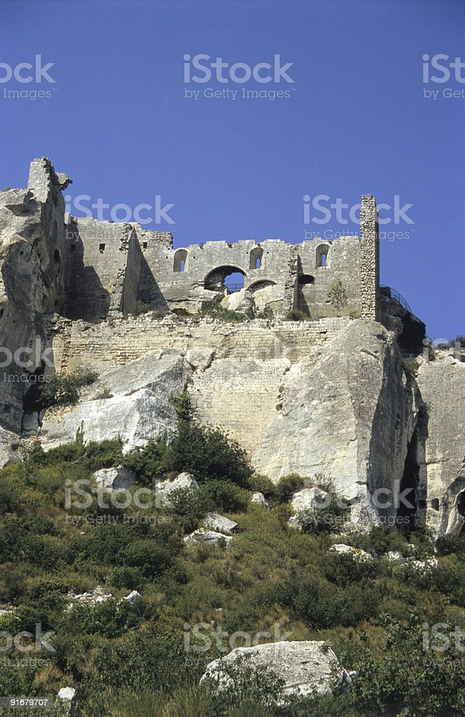 Stone Fortress royalty-free stock photo