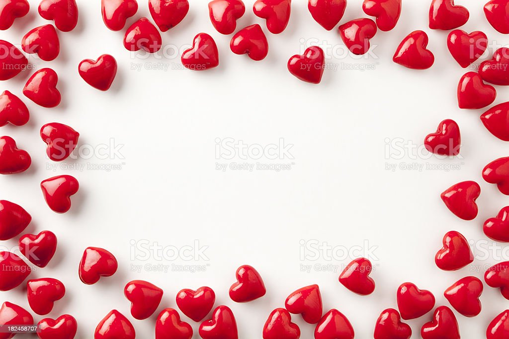Picture Frame Love Wallpaper: Stone Heart Frame Love Valentines Day Red Background Shiny
