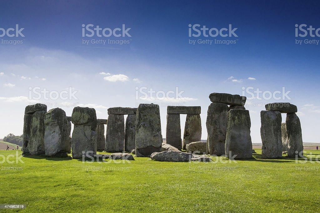 Stone henge royalty-free stock photo