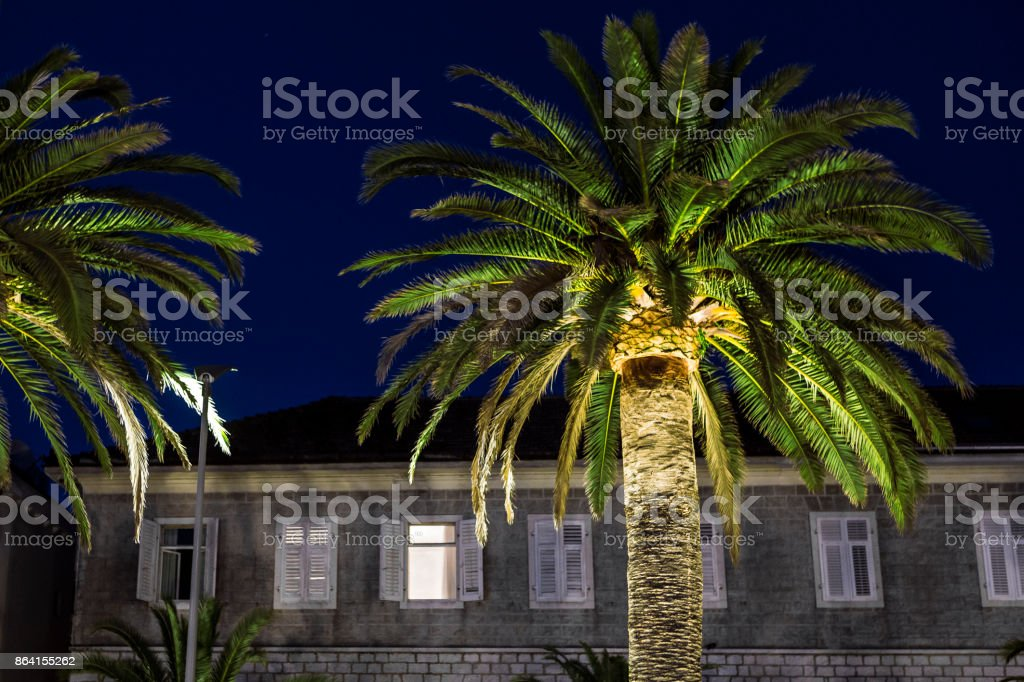Stone house on Mediterranean sea royalty-free stock photo