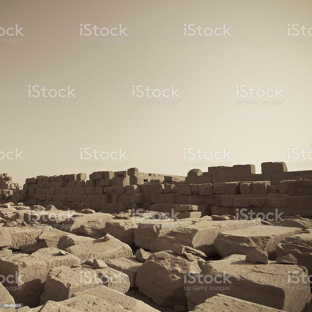 stone in Kanark temple royalty-free stock photo