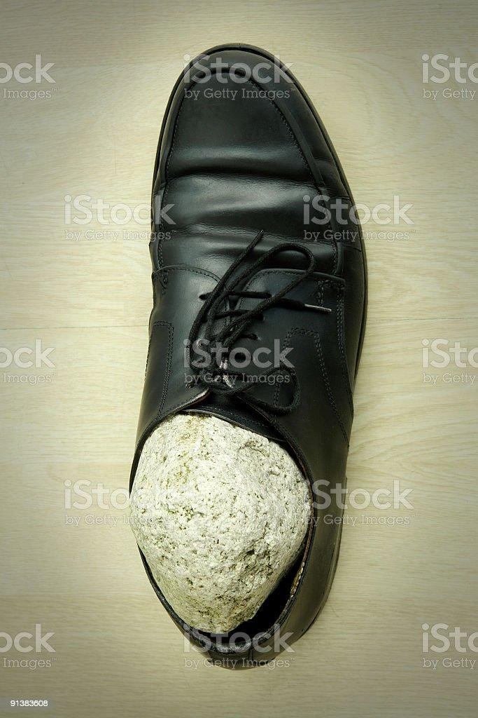 Piedra En El Zapato Foto de stock y más banco de imágenes de Adulto - iStock