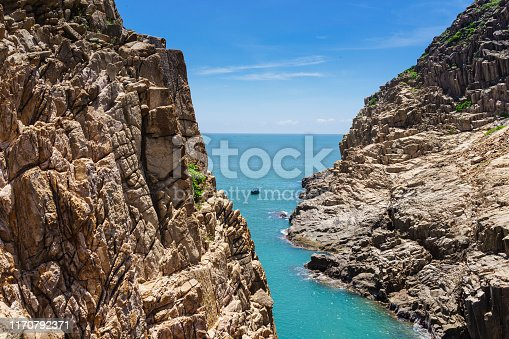 Country - Geographic Area, Hong Kong, Aerial View, Backgrounds, Bay of Water