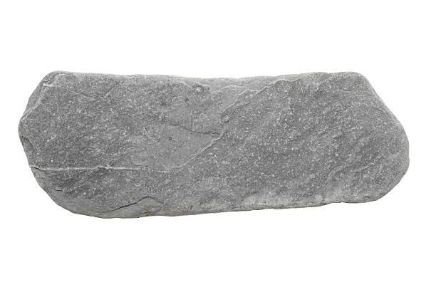 Stone isolated on white stock photo