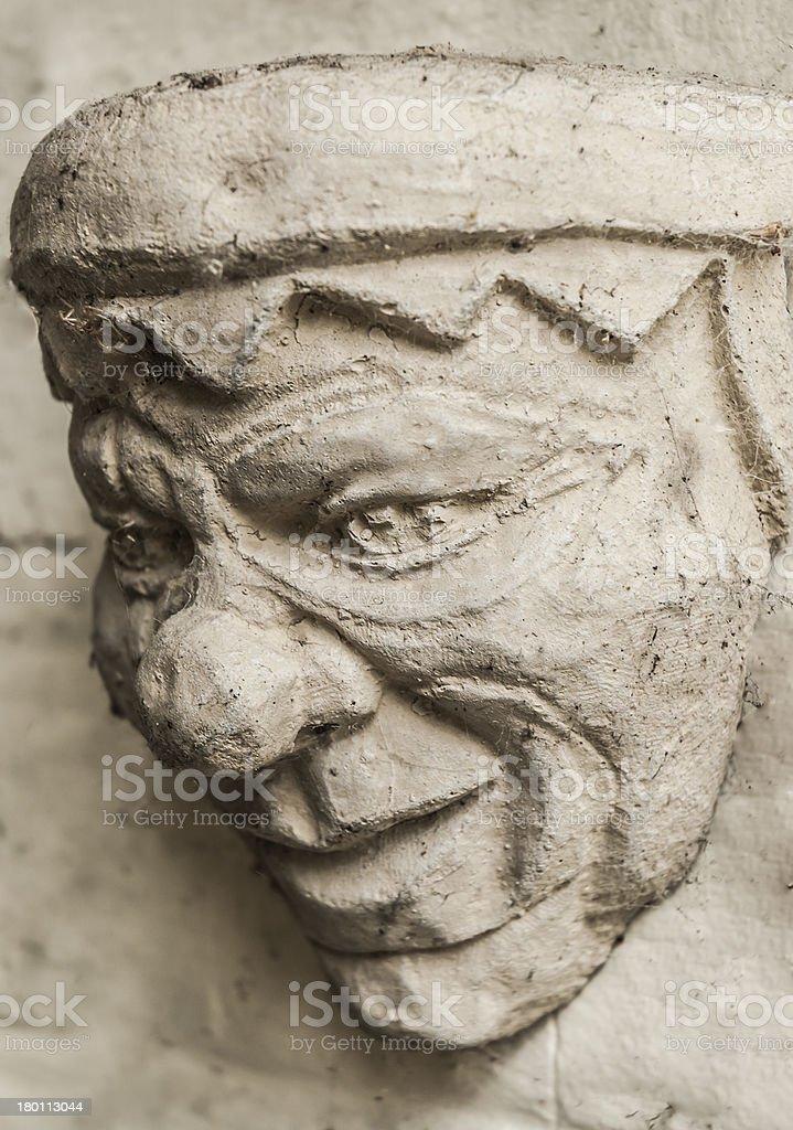 Stone Jester royalty-free stock photo