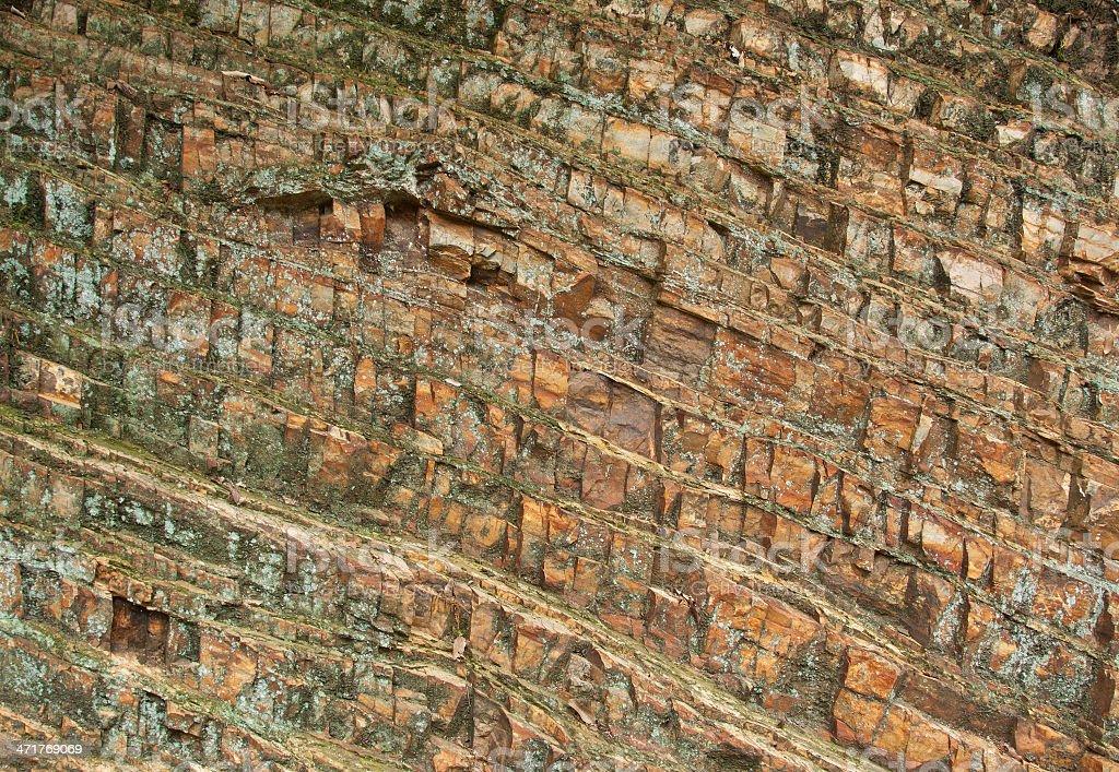 stone layers royalty-free stock photo