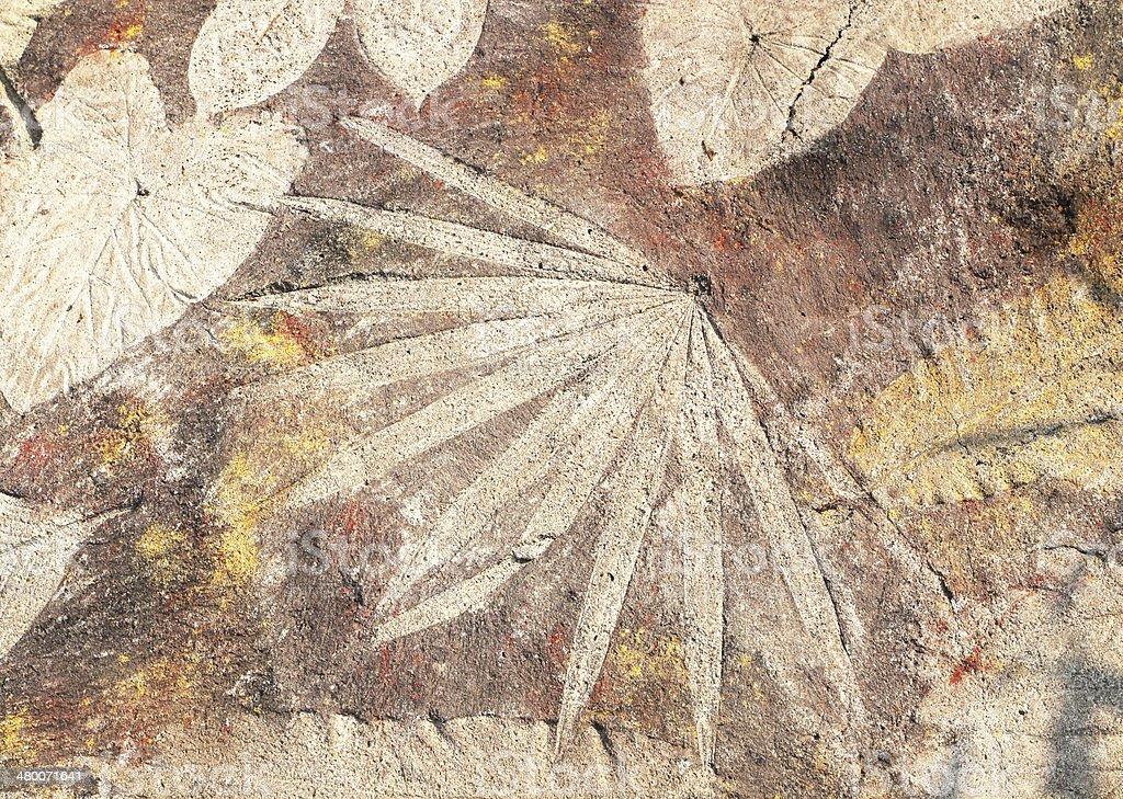 stone leaf background stock photo