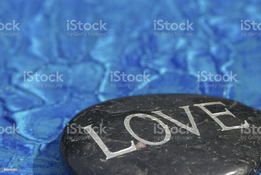 Stone Love royalty-free stock photo