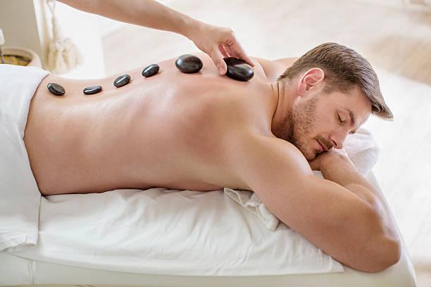 Stone-massage  – Foto
