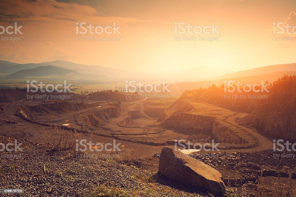 Stone mine – Foto
