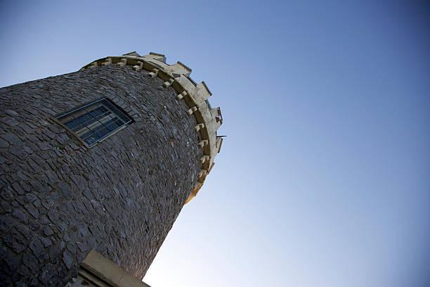 Stone observatory stock photo