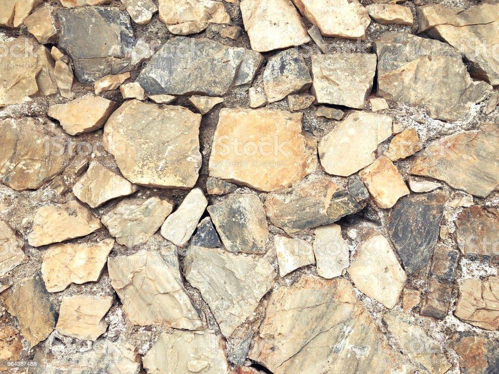 De oude muur steen voor textuur achtergrond, abstract foto - Royalty-free Abstract Stockfoto