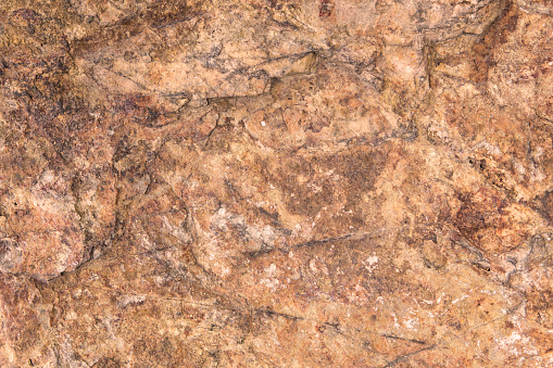 orange stone or rock background and texture