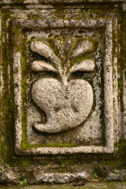 Ornamento en piedra - foto de stock