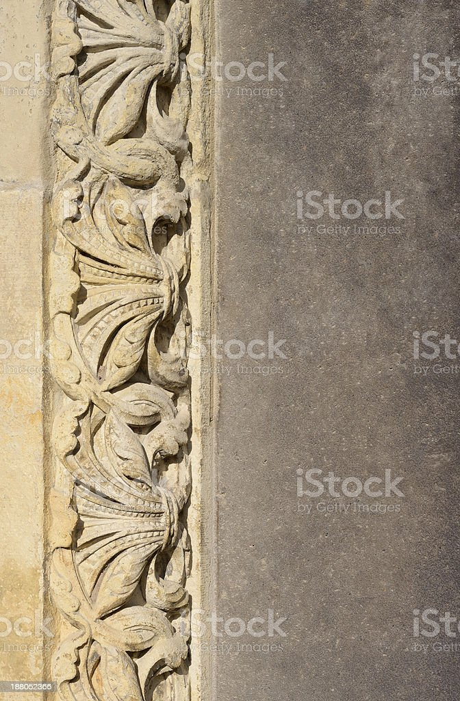 Stone ornaments royalty-free stock photo